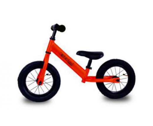 Bici bimbo no pedali KIDZ'WORLD Arancio