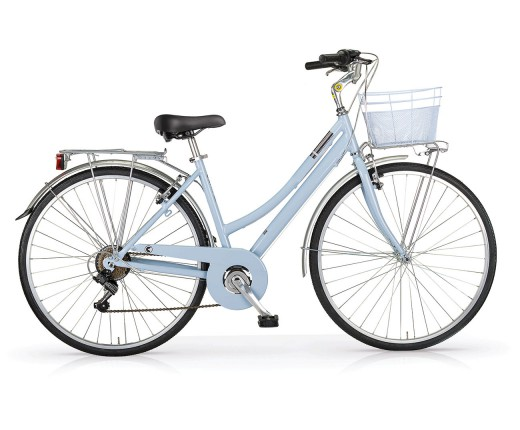 Bici MBM CENTRAL donna all.6V azzurra