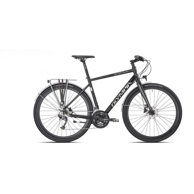 Bici Uomo 28 Olympia Speedium 2 24v Nera Bici City Bike Semprini Bike Store Srl Con Unico Socio
