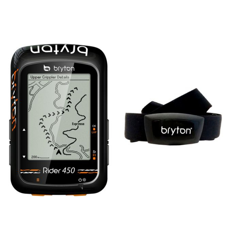 BRYTON GPS RIDER 450H HRM