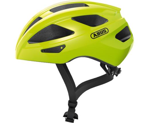 Casco bici Abus Macator signal yellow