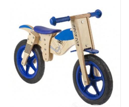 """Ciclo 12"""" in legno senza pedali """"Moto"""""""