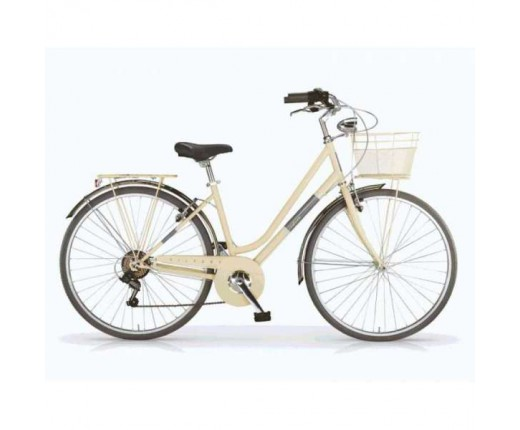 Ciclo MBM SILVERY 28 donna 6V.acc.crema