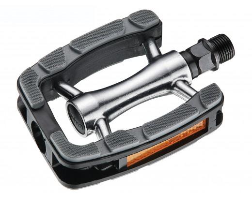 Cp.pedali trekking alluminio antiscivolo