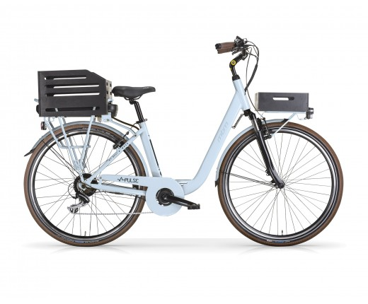 E-Bike donna MBM Pulse 26 litio Azzurra