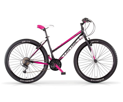 MTB donna MBM DISTRICT 26 NERO-FUXIA