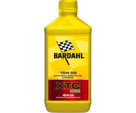 Olio motore 4T Bardahl XTC C60 15W50 1lt