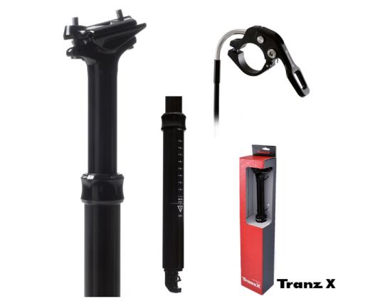 Reggisella telesc 27,2x350 80mm Tranzx