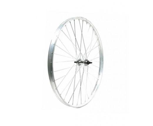 Ruota post.bici 26x3-8 R alluminio