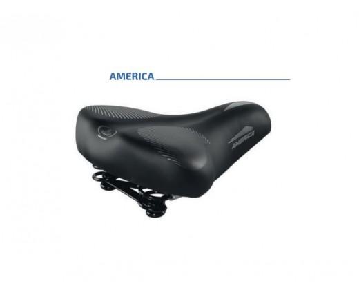 Sella ciclo citybike AMERICA skay nero